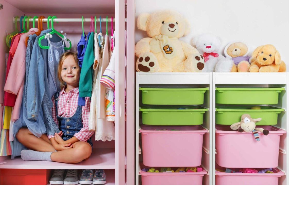 Ordnung im Kinderzimmer ohne die Nerven zu verlieren