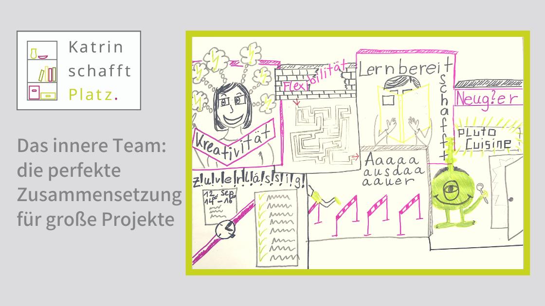 Kennen Sie Ihr inneres Team für Ihr Ordungsprojekt